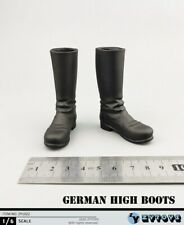 """1//6 Scale black Ancient Rome Solid boots Model  F12/"""" Phicen HT Male Figure AS005"""