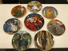 Full Set of 8 Knowles Gone With the Wind Collector Plates Gently Used