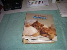 Simply Beautiful Knitting Two-Ring Binder Filled With 99 Knitting Patterns