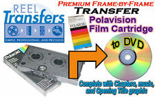 Transfer your Polaroid Polavision film cartridges to DVD (frame-by-frame)