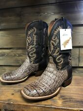 Lucchese Mens Boots Size 10.5 D Hornback Brown, Made In America