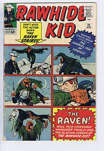 Rawhide Kid #35 Atlas Pub 1963