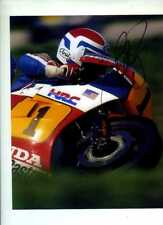 Freddie Spencer Honda NSR 500 South African Grand Prix 1984 Signed Photograph