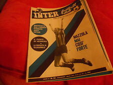 CALCIO  RIVISTA    INTER  FOOTBALL  CLUB     NR  12   DICEMBRE  1966