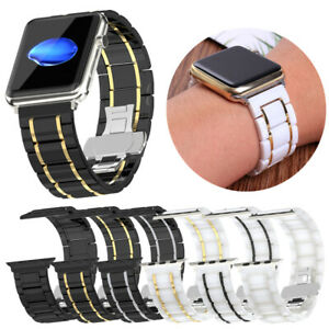 Ceramic Band For Apple Watch Replacement  Premium Bracelet  watch Strap 38-44mm