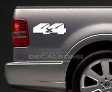 2) 4x4 Bedside Decals Stickers mud turbo diesel utv atv rzr truck Style #3
