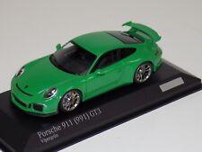 1/43 Minichamps Porsche 911 ( 911 ) GT3   Green  CA04316082