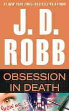 Obsession in Death by J. D. Robb (2015, Hardcover, Large Type)