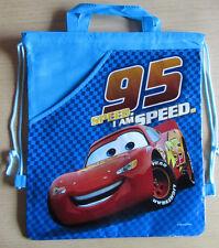 Cars * Kinder-Tasche*Rucksack * Blau mit Motiv * 95 Speed*Disney * Neu
