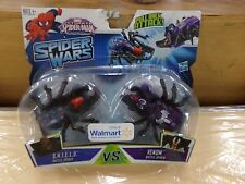 Ultimate Spiderman Spider Wars Pull Back Attack! NEW S.H.I.E.L.D. & Venom
