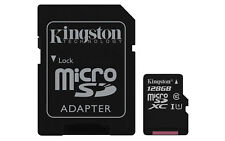 Kingston 128gb Canvas Select Micro SDXC Card With SD Adapter Class 10