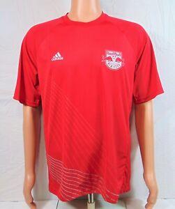 Adidas MLS New York Red Bulls FC Training Soccer Jersey Sz M NEW CB4943 RARE