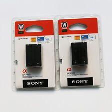 2x NP-FW50 Battery For Sony Alpha NEX-3 3C 3D 3DW 3K 5 5K 5C NEC-5DB 5HB A55 A33
