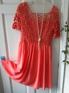 CLUB L PARTY  DRESS SIZE 18  GREAT SUMMER FROCK