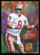 1994 Flair Hot Numbers Steve Young #15 San Francisco 49ers