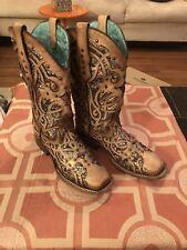 Corrall Women's Bone And Multi Color Boots