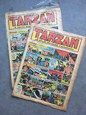 TARZAN/ LOT DE 2 N° DE  1953  /