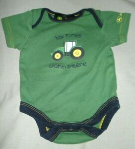 John Deere Baby Boys JSB571YN6A T-Shirt 3-6 Months Yellow