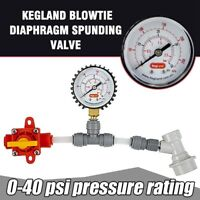 Duotight Blowtie 2 Spunding Valve Pressure Relief with Integrated Gauge 0-15p