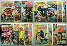 Tarzan #207, 208, 227-229, 238-up DC-19 100 PG $143.00 LOT of 17 (1972) 6.5 FN+
