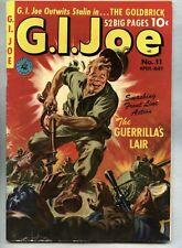 G.I. Joe #11-1951 fn 2nd issue / Ziff Davis Norman Saunders GI Joe
