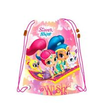 Drawstring Bag,Shimmer&Shine Bag,Swim Beach Bag,Gym Bag,Official Licensed