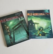 Malifaux Storm Of Shadows And 1.5 Guides Books
