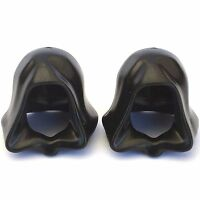 2 x Star Wars LEGO® Black Robe Hood for Sith Lord & Jedi minifigure Genuine Part