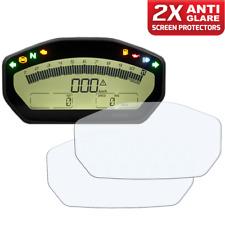 2x DUCATI Supersport 17+ Cuadro de Instrumentos/Tablero/Speedo protector de pantalla AG