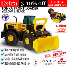 Large Steel Tonka Metal Loader Toy Truck Yellow Sandpit Vehicle Outdoor Toy NEW