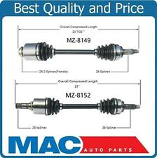 PAIR Front CV Axle Constant Velocity Set for 2010-2013 Mazda 3 2012-2014 Mazda 5