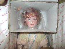"Danbury Mint Little Victorian Ladies ""Rachel"" porcelain Doll *NRFB by Jan Garnet"