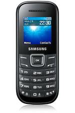 Samsung  Guru GT-E1200T - Black - Mobile Phone (Refurbished)