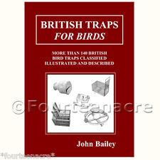 Trappole Britannici Per Uccelli vintage da collezione antica tonnara sparrow