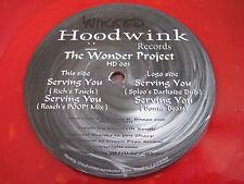 "RARE DJ DANCE BREAK BEAT 12"" THE WONDER PROJECT - HOODWINK HD 003"