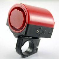 Fahrradhupe/Mini Fahrrad-Hupe 90dB rot Kunststoff