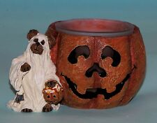 "Boyds Bears resin ""Ghoulia Boobear.Spooky Treats"", #27730 votive 2000 Nib"