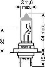 OSRAM GLÜHLAMPE 64210CBI SCHEINWERFERLAMPE LAMPE
