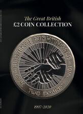 Black 2020 Edition Great British £2 Coin Hunt Collectors Album Aut FR