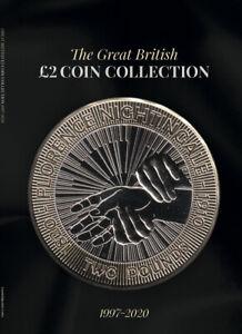 NEW BLACK 2020 Edition Great British £2 Coin Hunt Collectors Album