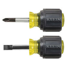 Klein Tools 85071 Screwdriver Set,Slotted/Phillips,2 Pc