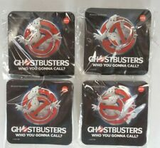 Qty 4 Amc Ghostbusters 2016 Movie Logo Pin & Post Ghost New