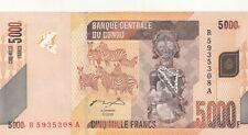 Congo 5000 Francs 2005 (2012) P-102 - UNC
