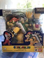 BANDAI S.H. Figuarts Super Mario Brothers Figure Bowser Nintendo. USA seller