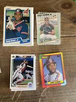 100+ 1990 Fleer Topps Other Sandy Alomar Jr Cleveland Indians NM-MT+