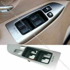 Power Window Master Door Switch Panel Replace For Toyota Prado LCFJ120 2003-2009