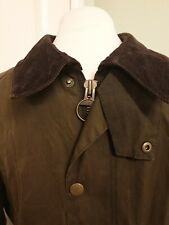 Barbour Men's Waxed Jacket Size M.  Green