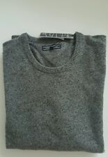 Tommy Hilfiger Wool Crew Neck Jumper  For Men`s Size XL In Grey