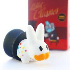 "Kidrobot Kozik Mini Labbit Classics 1.5"" Magic Rabbit In Hat Vinyl Art Pride"