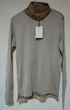 Paul Smith Smart Gent's Fine Light Brown Athletic Fit Roll Neck Top Size: S